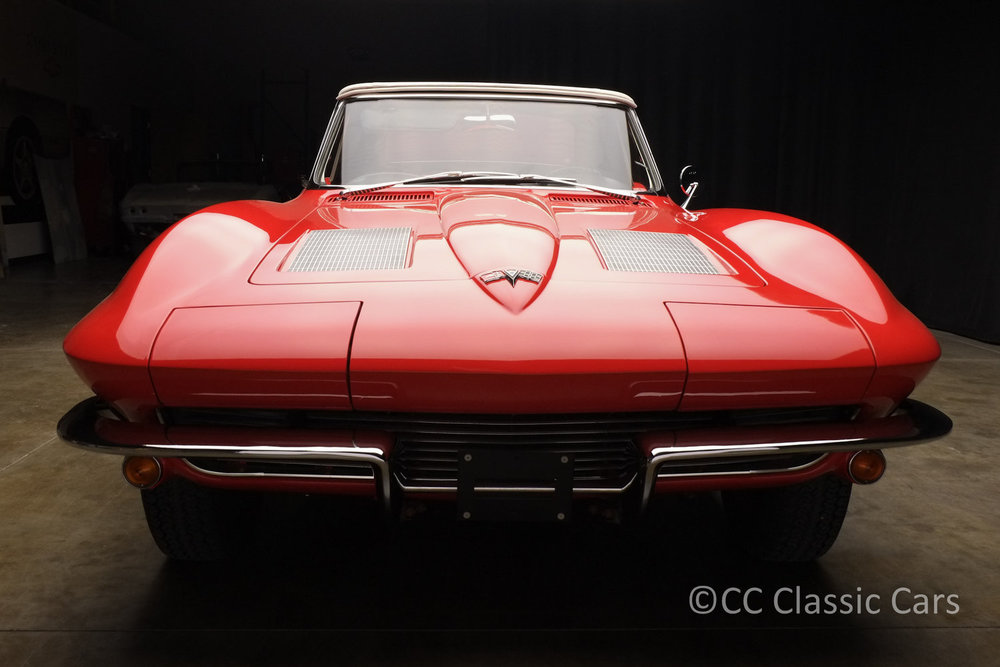 1963 Corvette Convertible 327 Fuel Injected