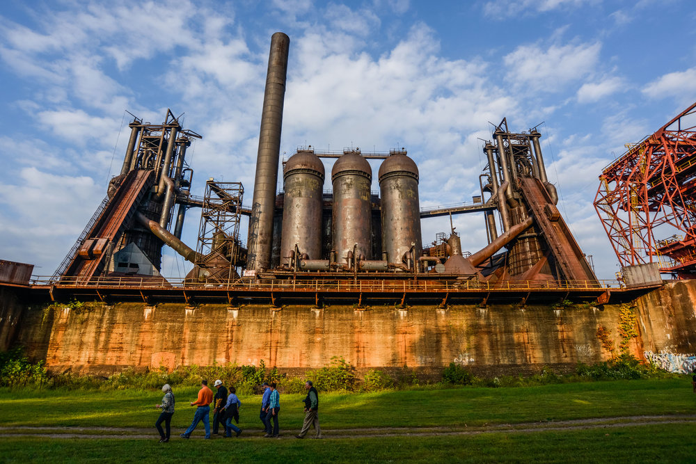 Carrie Blast Furnaces, Photo by Primetime Shots