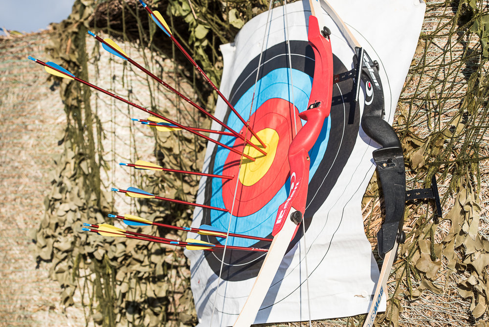 archery at Don Coyote Outdoor Centre Scottish Borders Edinburgh