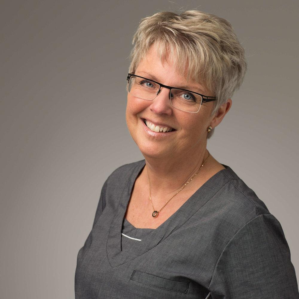 Receptionist Annica Claesson