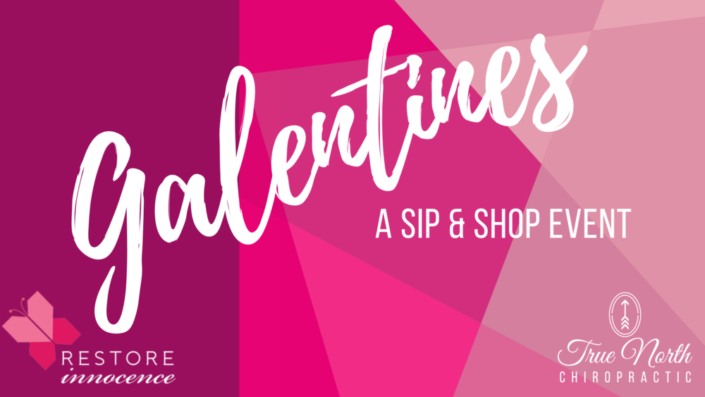 Our annual Galentines event helps raise money to go towards  Restore Innocence , a non-profit that helps fight human trafficking and aids women who have been victims of it.