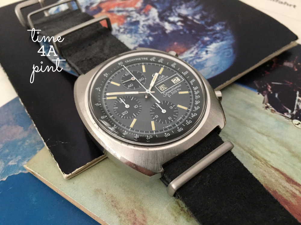 Omega Seamaster Speedsonic Chronometer f300Hz 188.0002