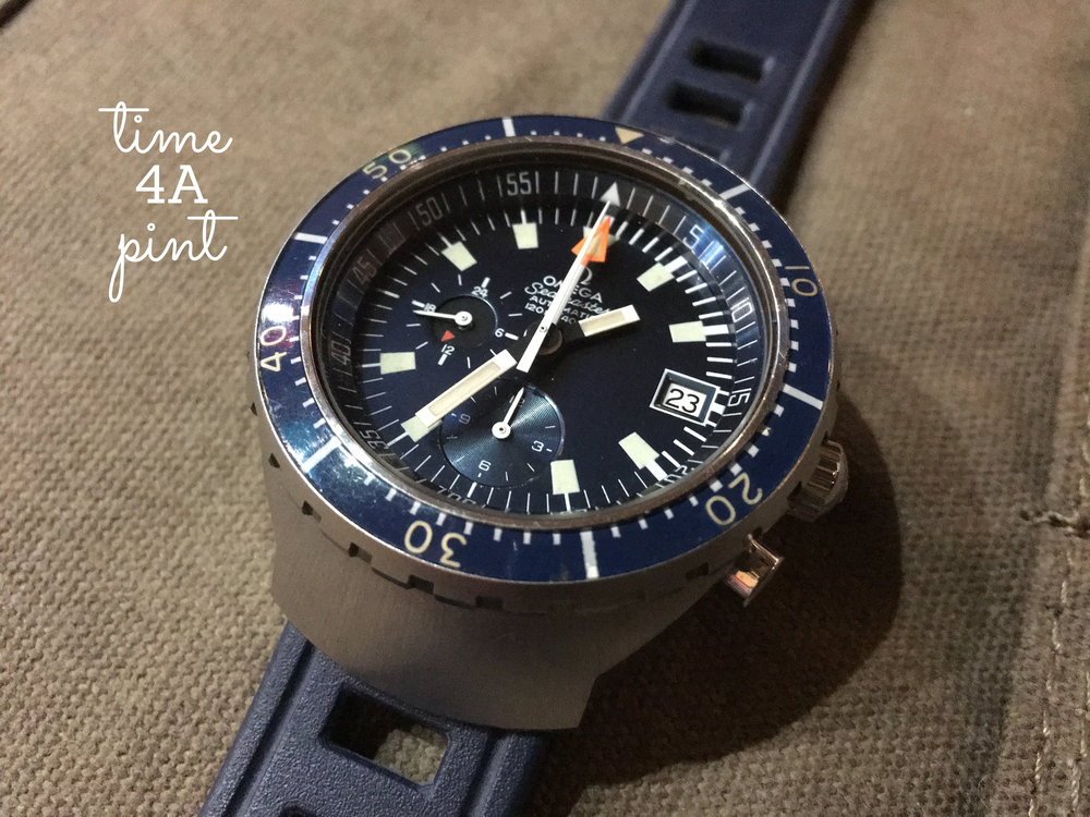 "Omega Seamaster 120m Chronograph ""Big Blue"" 176.004"