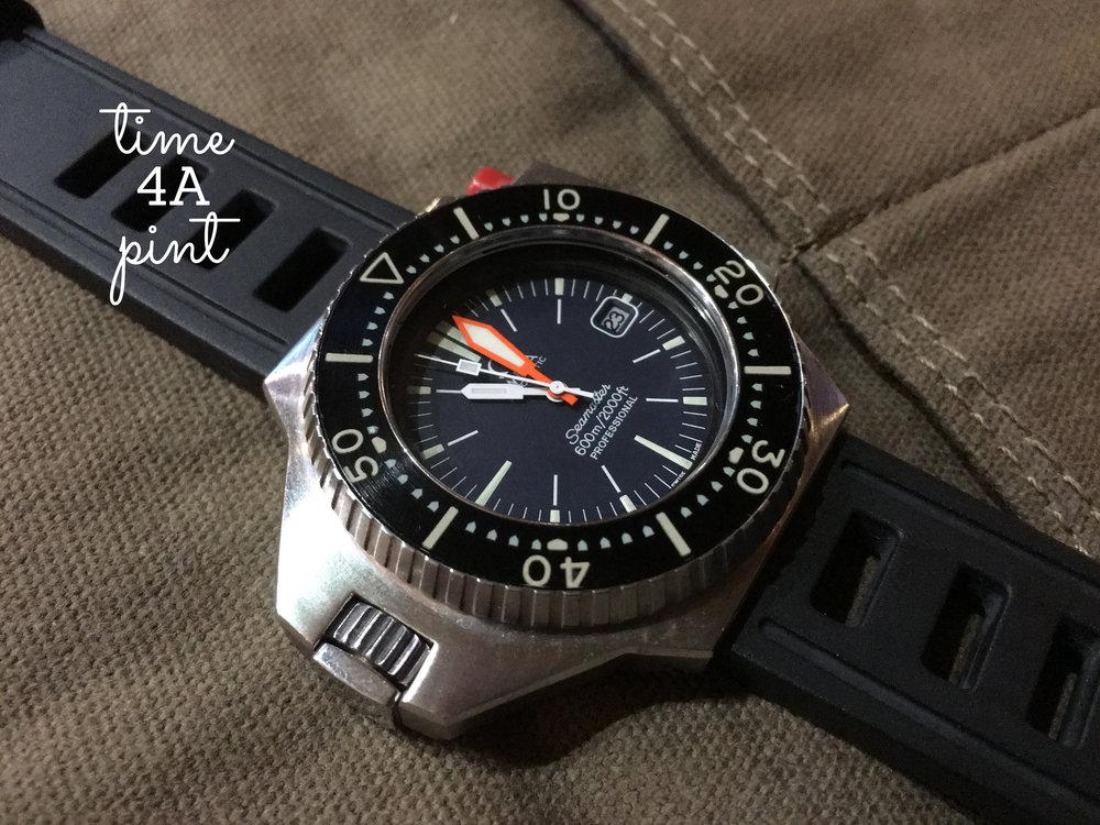 "Omega Seamaster 600m Professional ""PloProf"" 166.077"