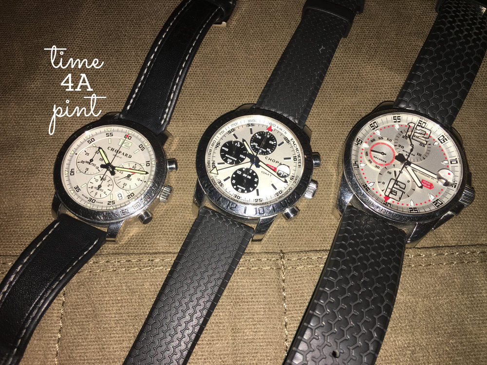 2003, 2005, 2008 Chopard Mille Miglia Competitor Issued Watches
