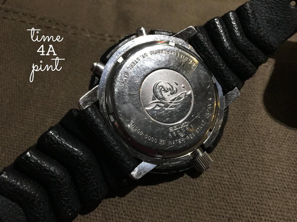 "Seiko H558-501L ""Arnie"" caseback"