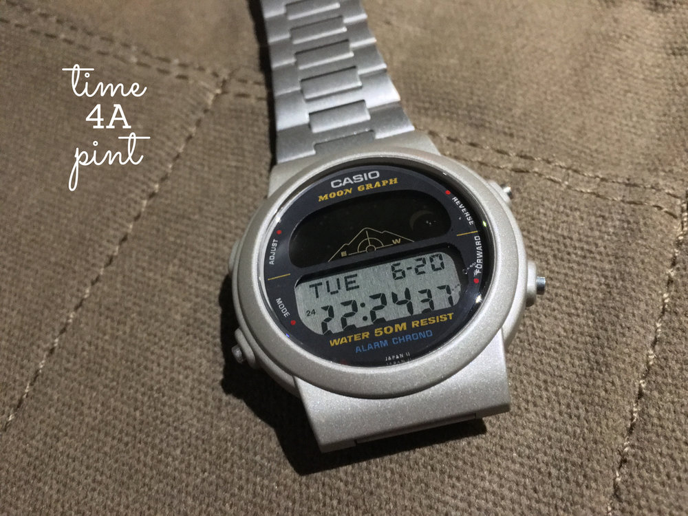 Casio Moon Graph