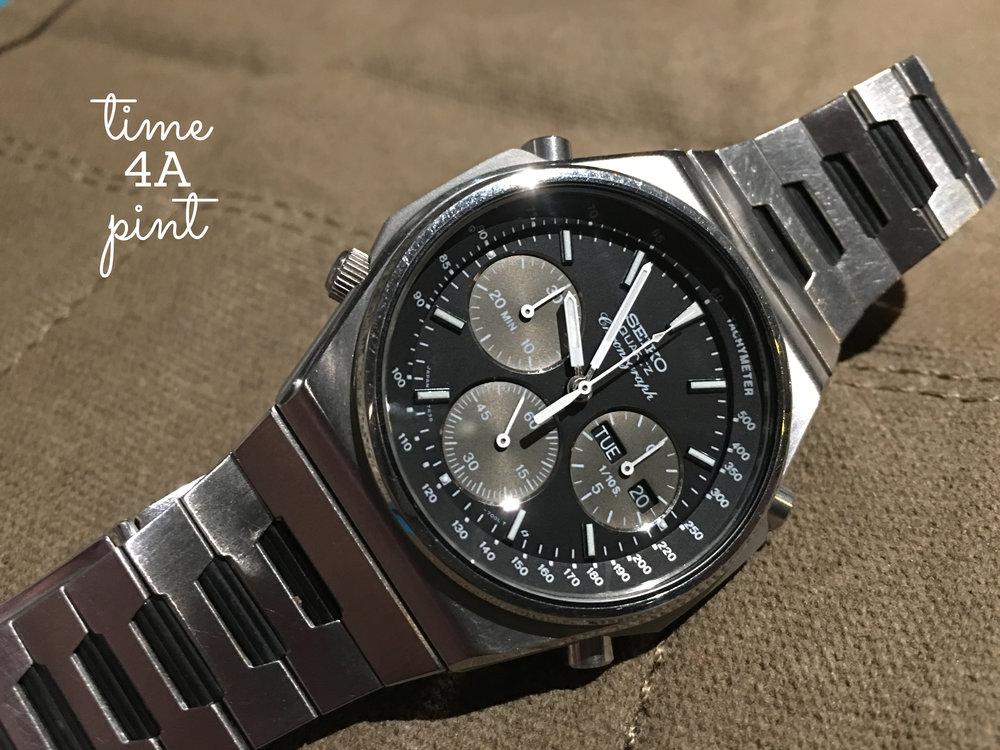 Seiko 7A38 Quartz Chronograph