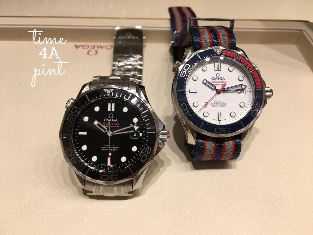 Omega Seamaster Professional 300, and Omega Seamaster Professional 300 Commander LE