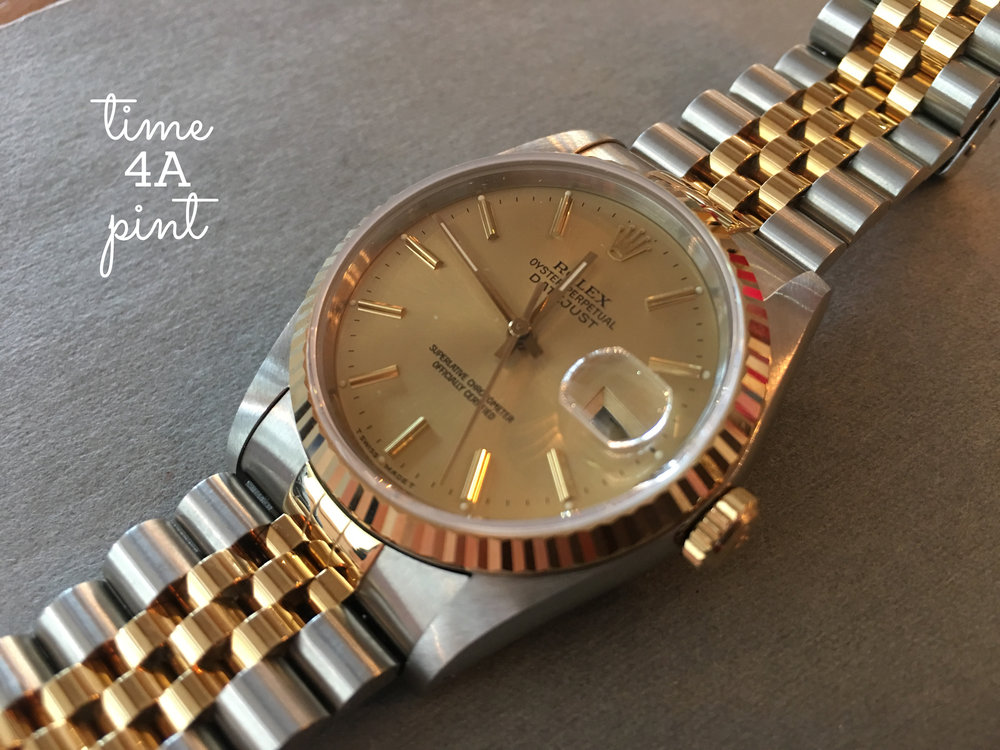 1989 Rolex Datejust Two Tone
