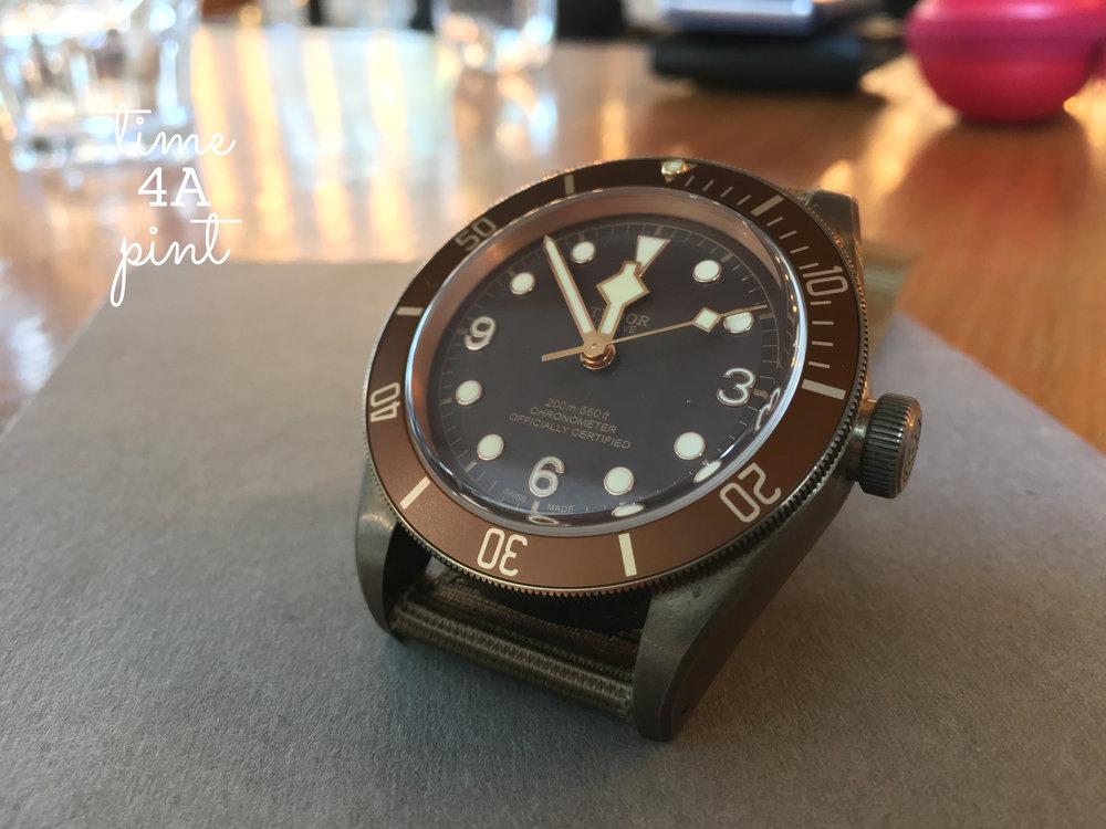 Tudor Black Bay Bronze 43