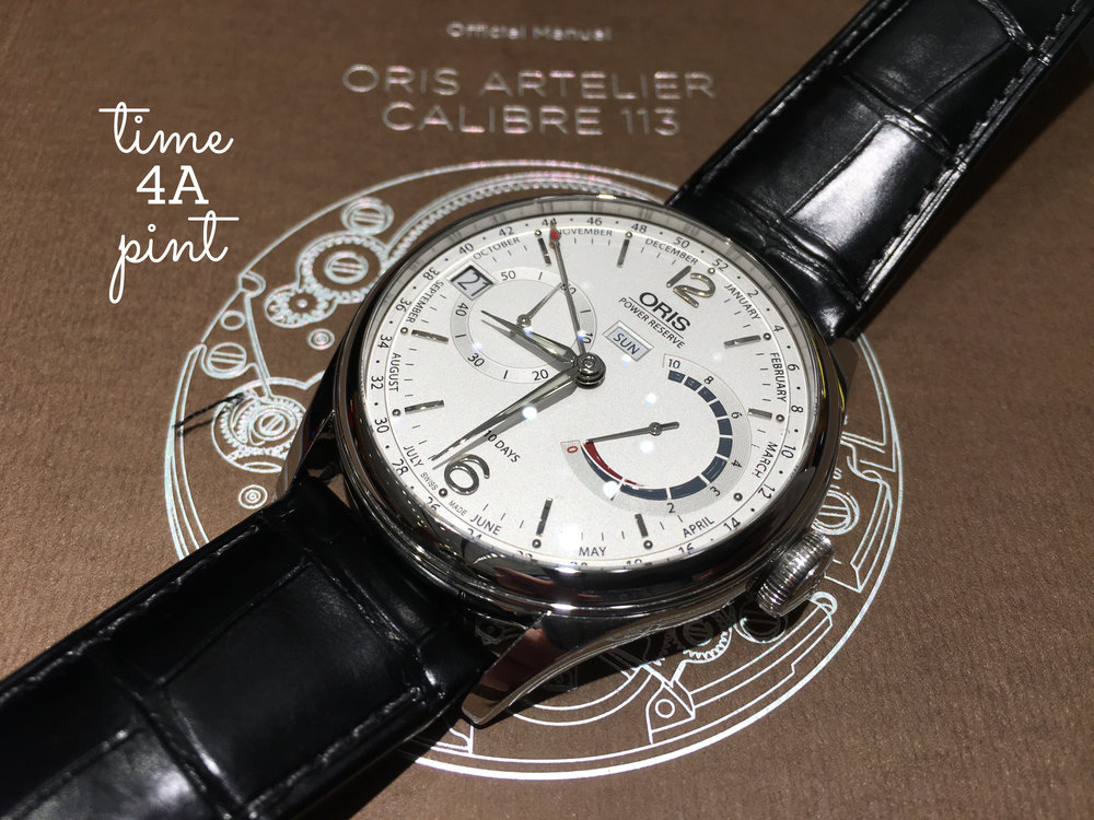 Oris Calibre 113 White