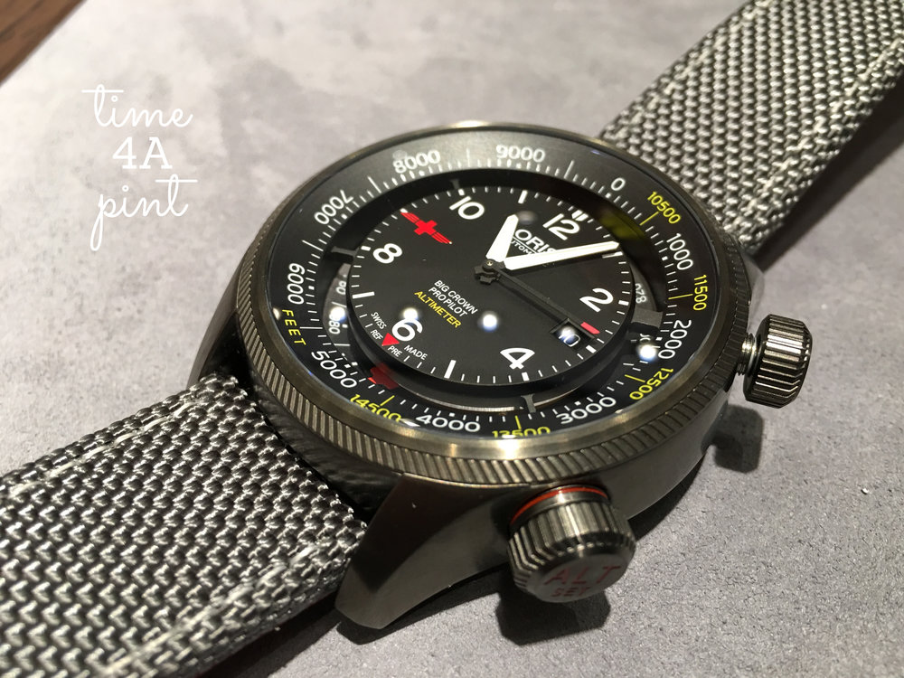 Oris Big Crown Pro Pilot Altimeter