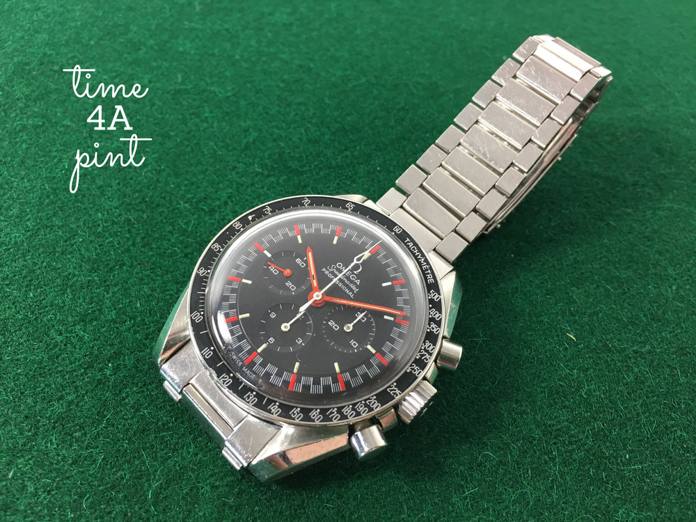 "Omega Speedmaster 145.012 ""Black Racing"""