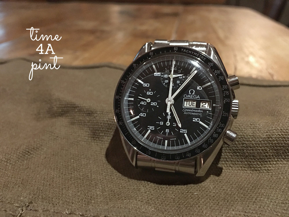 Service Specification Omega Speedmaster 376.0822
