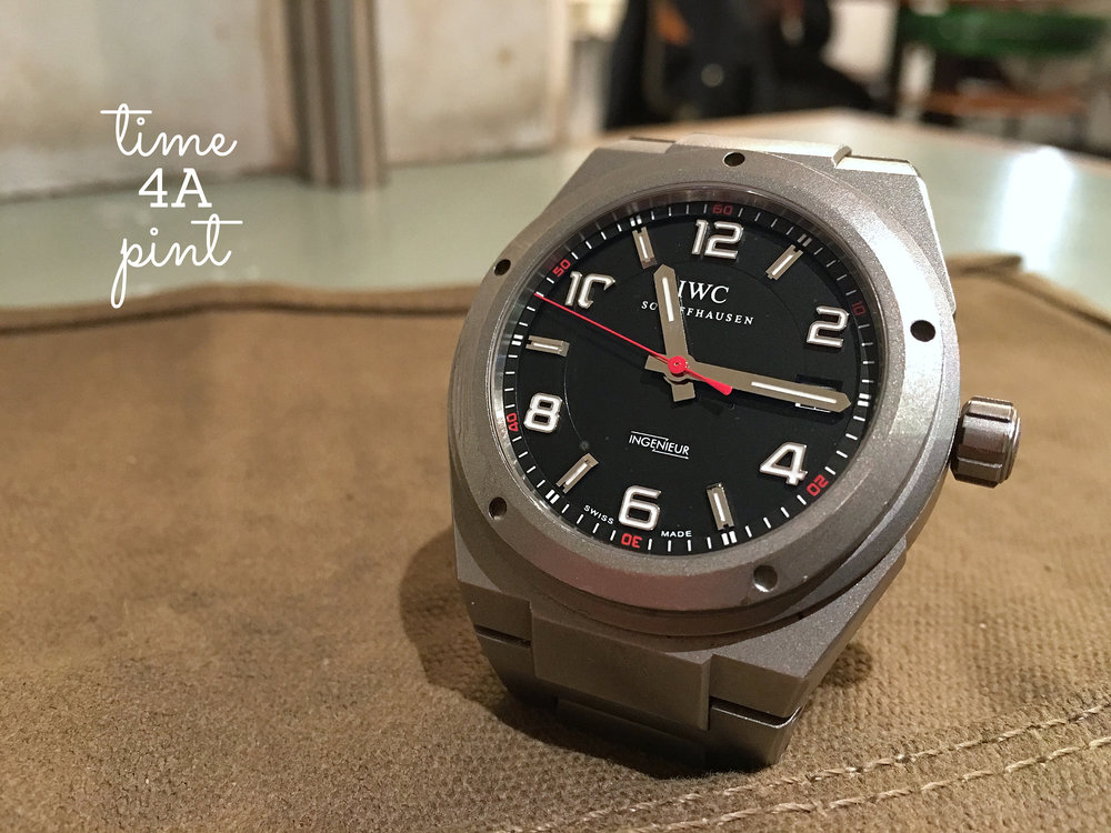 IWC Ingenier AMG Limited Edition