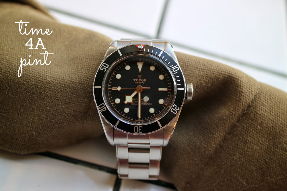 Tudor Black Bay 41mm Rivert Bracelet