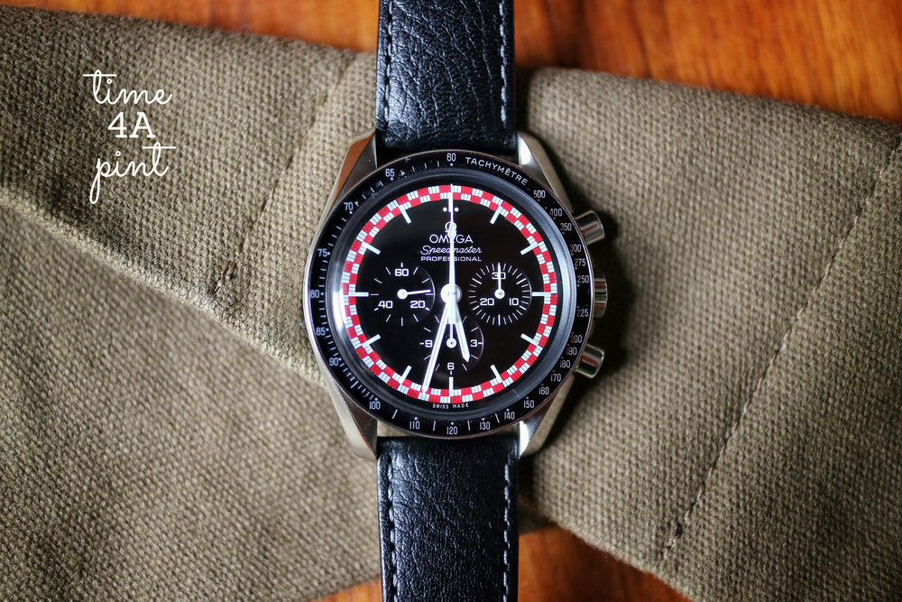"2013 Omega Speedmaster Professional Racing ""TinTin"" (reference 311.30.42.30.01.004)"