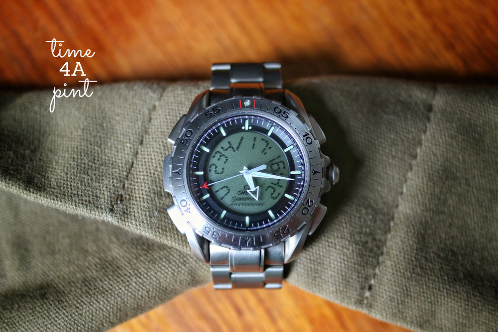 2002-2006 Omega Speedmaster Professional X-33 Second Generation (reference 3291.50.00)