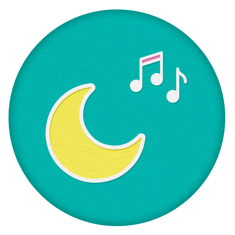 Soft sounds - Quiet singing, reading, nature sounds and shushing can all help replicate womb sounds to soothe your baby to sleep.
