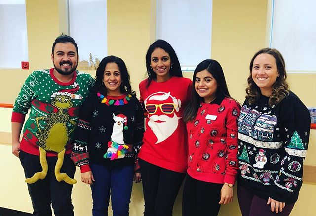 What is today? It's ugly-sweater-Friday at WP! Now it is your turn...feel free to post your child's favorite holiday sweater on instagram- ugly or not :) - with the hashtag #wpkids. Have a wonderful weekend!  #weissbluthpediatrics #chicagopediatrics #wpkids 🕵️‍♀️🤱👕📌