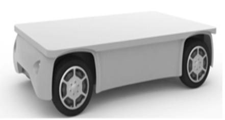 Autonomous Flatbed Utility Vehicle
