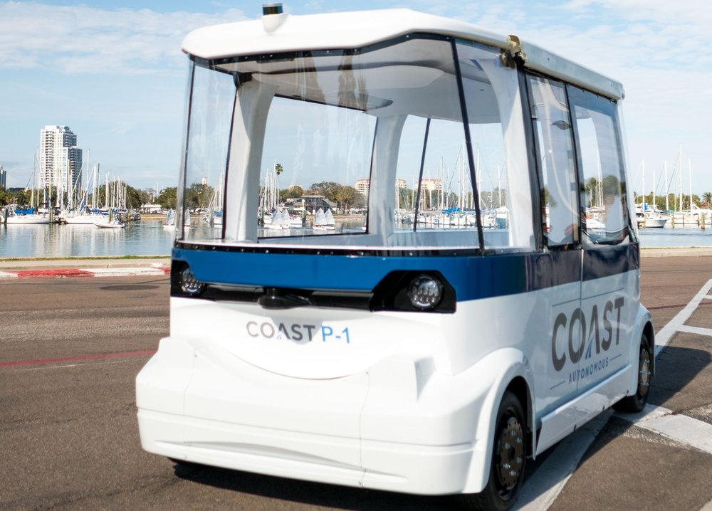 TECHNOLOGY - Coast's automation and monitoring system serves as the brain of any autonomous vehicle, transforming them into driverless shuttles that provide, safe, right-speed transportation for people or cargo.