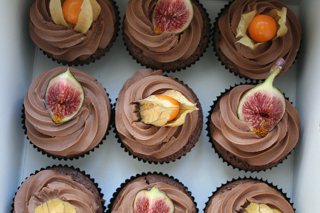 Valrhona Cupcakes