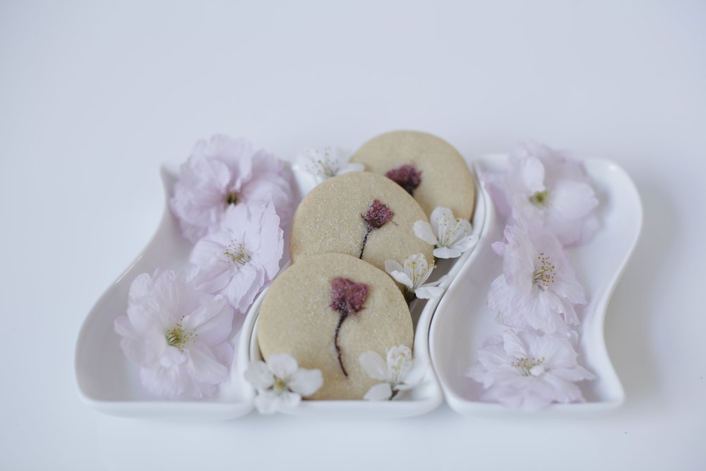 Sakura Blossom Cookies