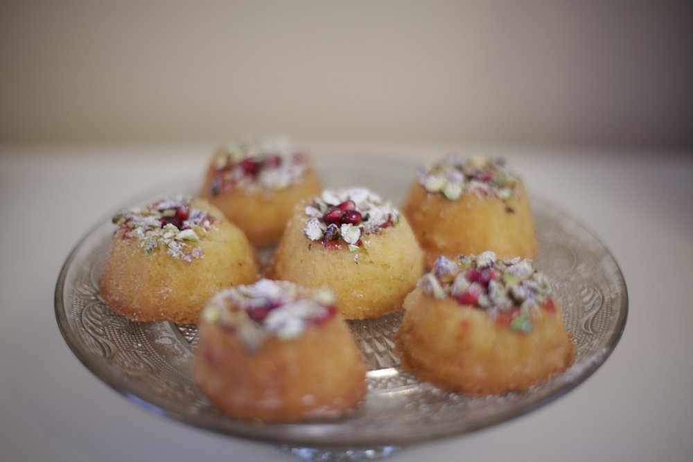 Persian Mini Bundt With Orange & Cardamom