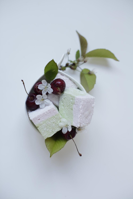 Matcha & Lychee Marshmallows
