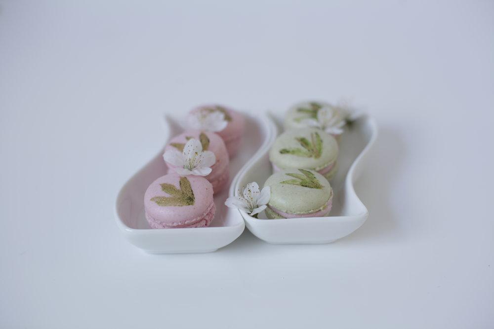 Matcha & Lychee Macaron