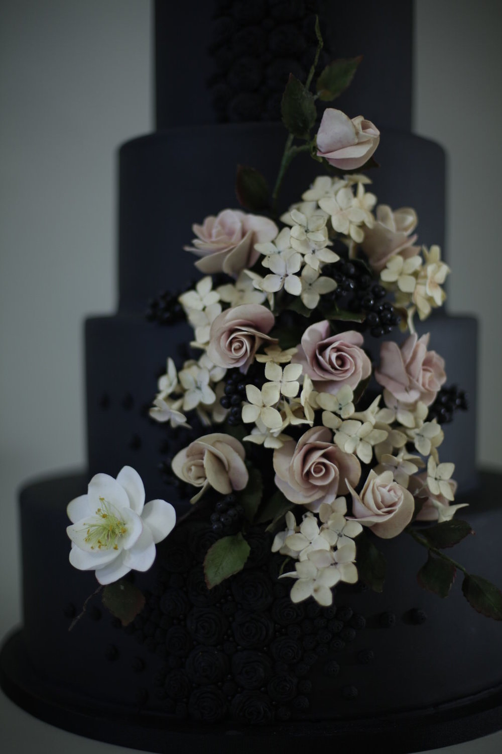 Belladonna wedding cake