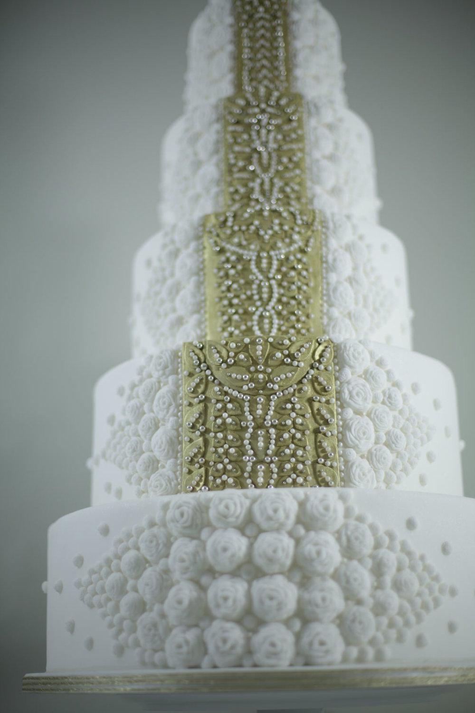 Majestic wedding cake