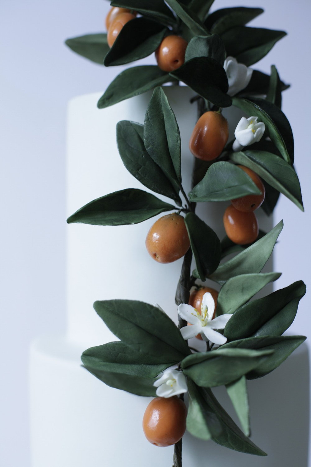 kumquat wedding cake