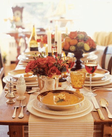 Thanksgiving Dining Ideas