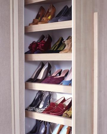Organize Your Shoe Closet