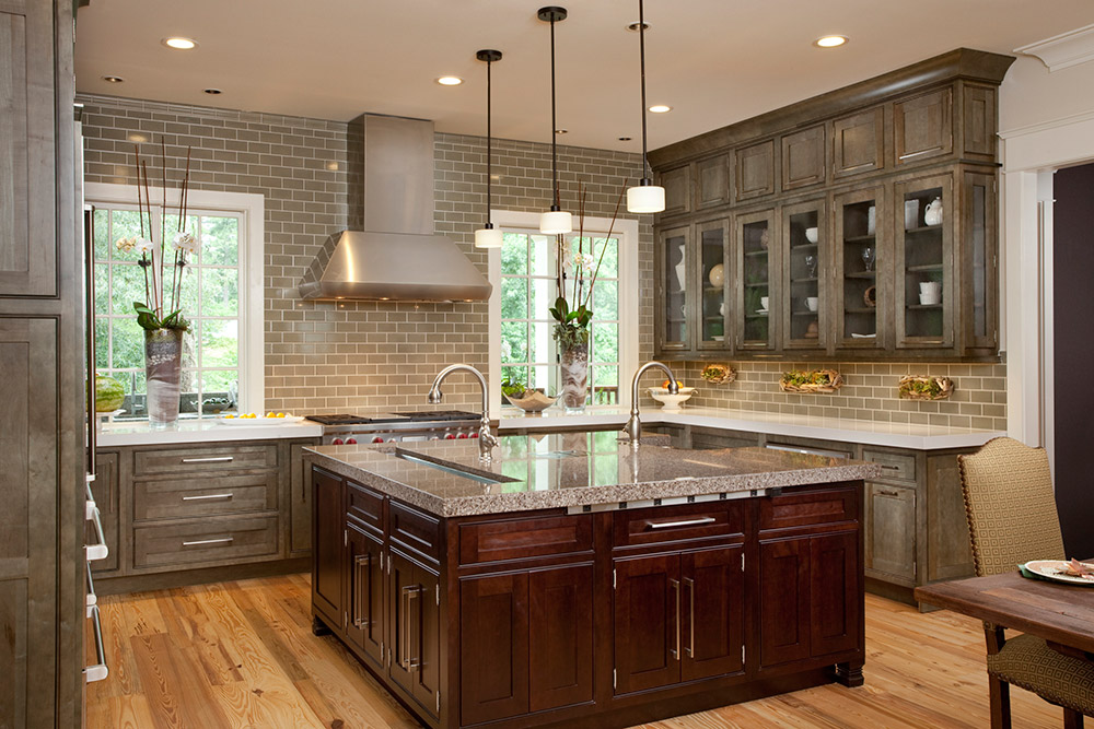 Custom Kitchen Cabinets for the Asheville and Cashiers Area