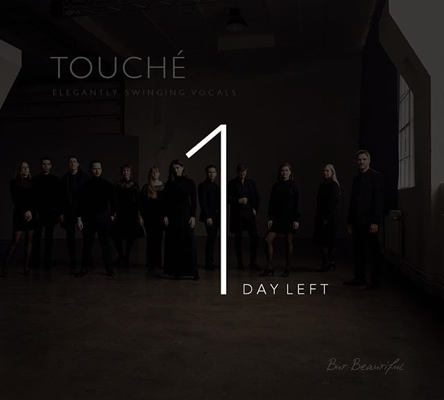 """1 DAY LEFT - TOMORROW is the day we've been waiting for!✨Our new album """"BUT BEAUTIFUL"""" will finally be released, and it will be available on all major digital music platforms. For physical copies - contact us directly!  We're THRILLED to finally share it with you! 💫  Love,  Touché  #touchejazz #butbeautiful #newalbum #jazz"""