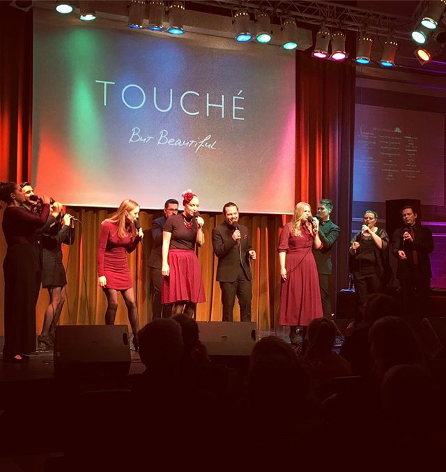 STOCKHOLM! Thank you - yesterday was a blast! Now, we're on our way to COPENHAGEN, and we would love to meet you there tonight! 19:00, Huset Magstræde - WELCOME! ✨  #touchejazz #butbeautiful #jazz #release #stockholm #copenhagen
