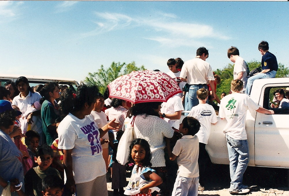 "Years ago, we were in Mexico with a 5th & 6th grade Sunday School class from Auburn, AL, and during a food distribution time, the beans & rice did not run out. The boys kept looking in the bag & shouting, ""there's still more!"" More people than we imagined showed up, so did our God whose name is Jehovah Jireh- Our Provider! He is ALWAYS ENOUGH!"