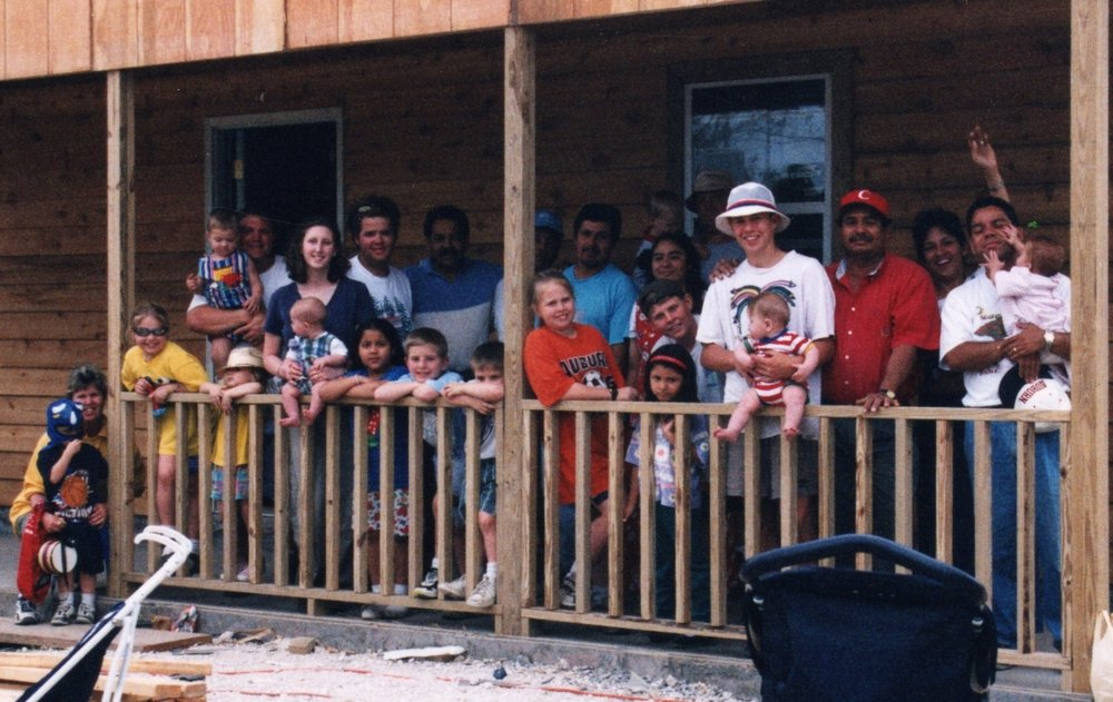 Building in the nations  - We have built physical buildings for pastors, churches & communities. It has been a major way to open hearts to the Gospel message.