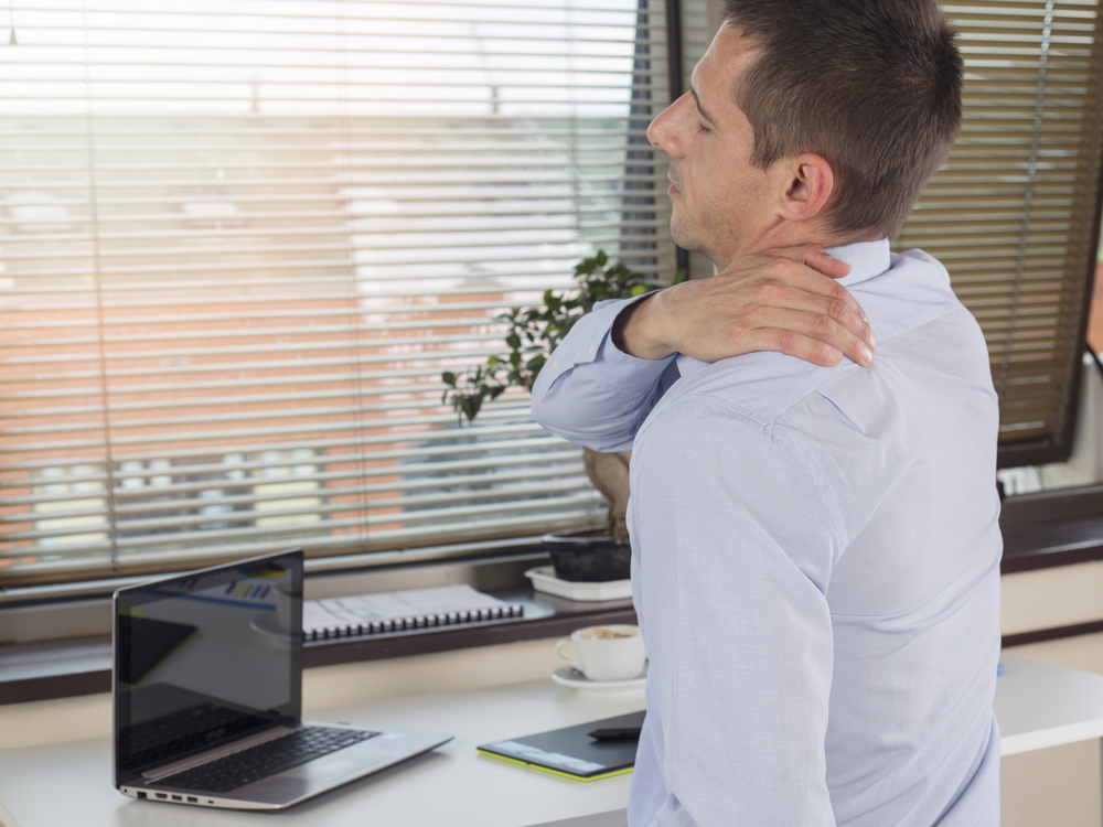 Lower back pain - Did you know that your sitting posture may determine whether or not if you will develop pain?