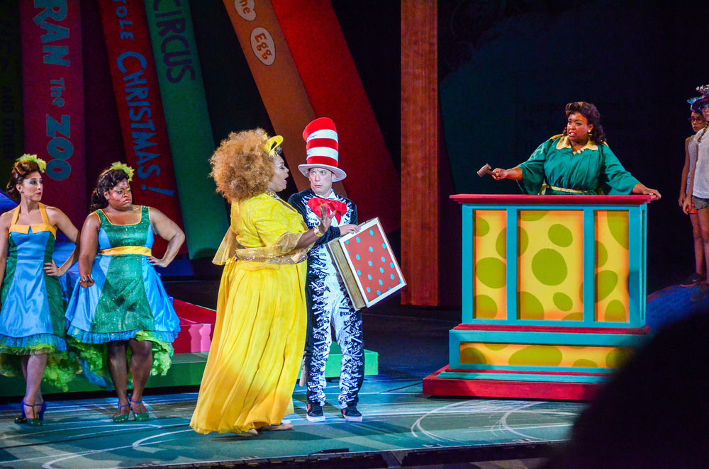 Yertle the Turtle,  Seussical , The Muny