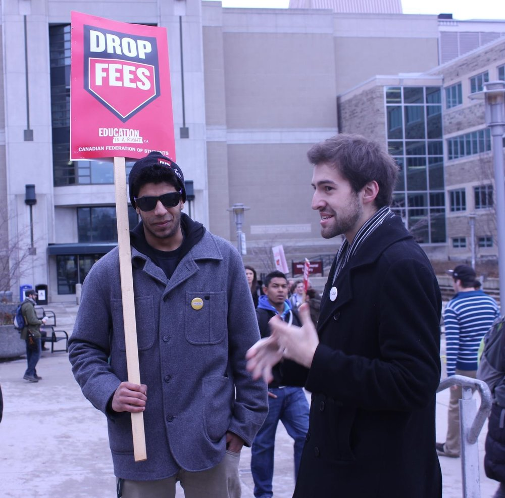 Chris Erl Campaigning During MSU Presidentials.jpg