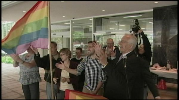 Hamilton Pride Flag Raising City Hall.jpg