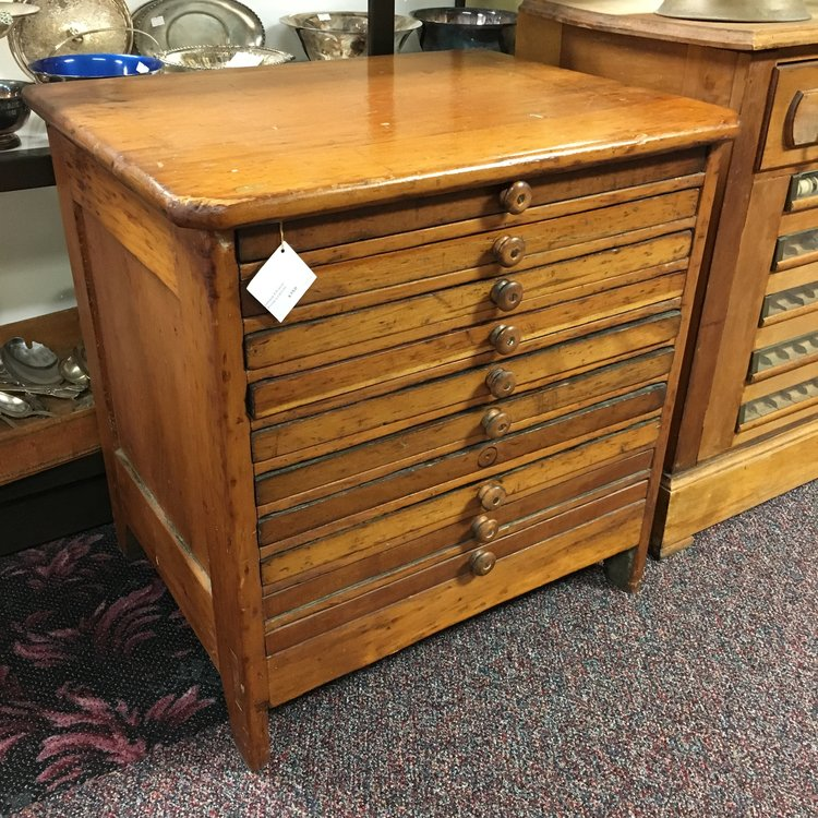 - Antique 8 Drawer Printers Cabinet — Ardesh