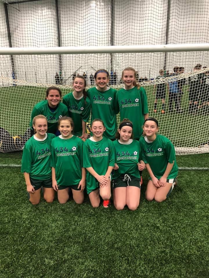 Vestal Fusion  Harvest Cup - U14 Girls Champions