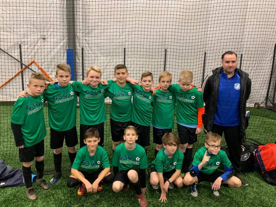 BC United Premier 07'  Harvest Cup - U12 Boys Champions