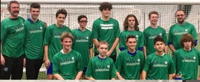 ME Spartans   Christmas Classic - U16 Boys Champions